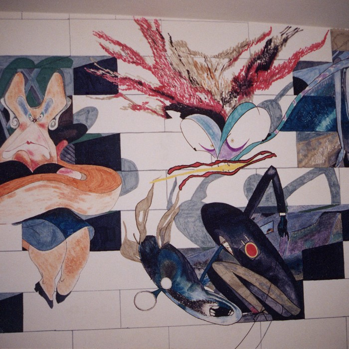 Pink Floyd The Wall Mural 6