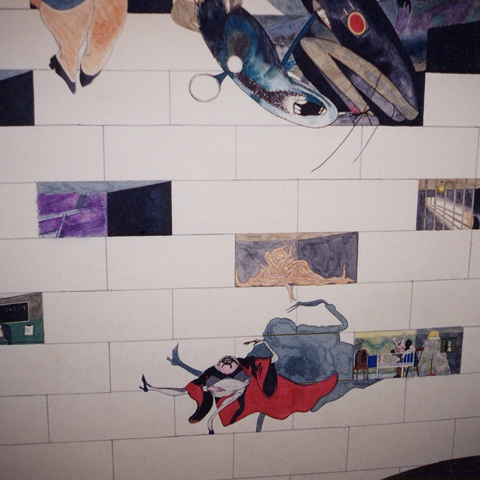 Pink Floyd The Wall Mural 7