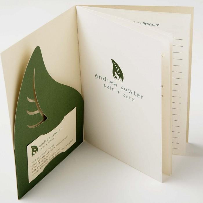 Andrea Sowter Skin Care Brochure