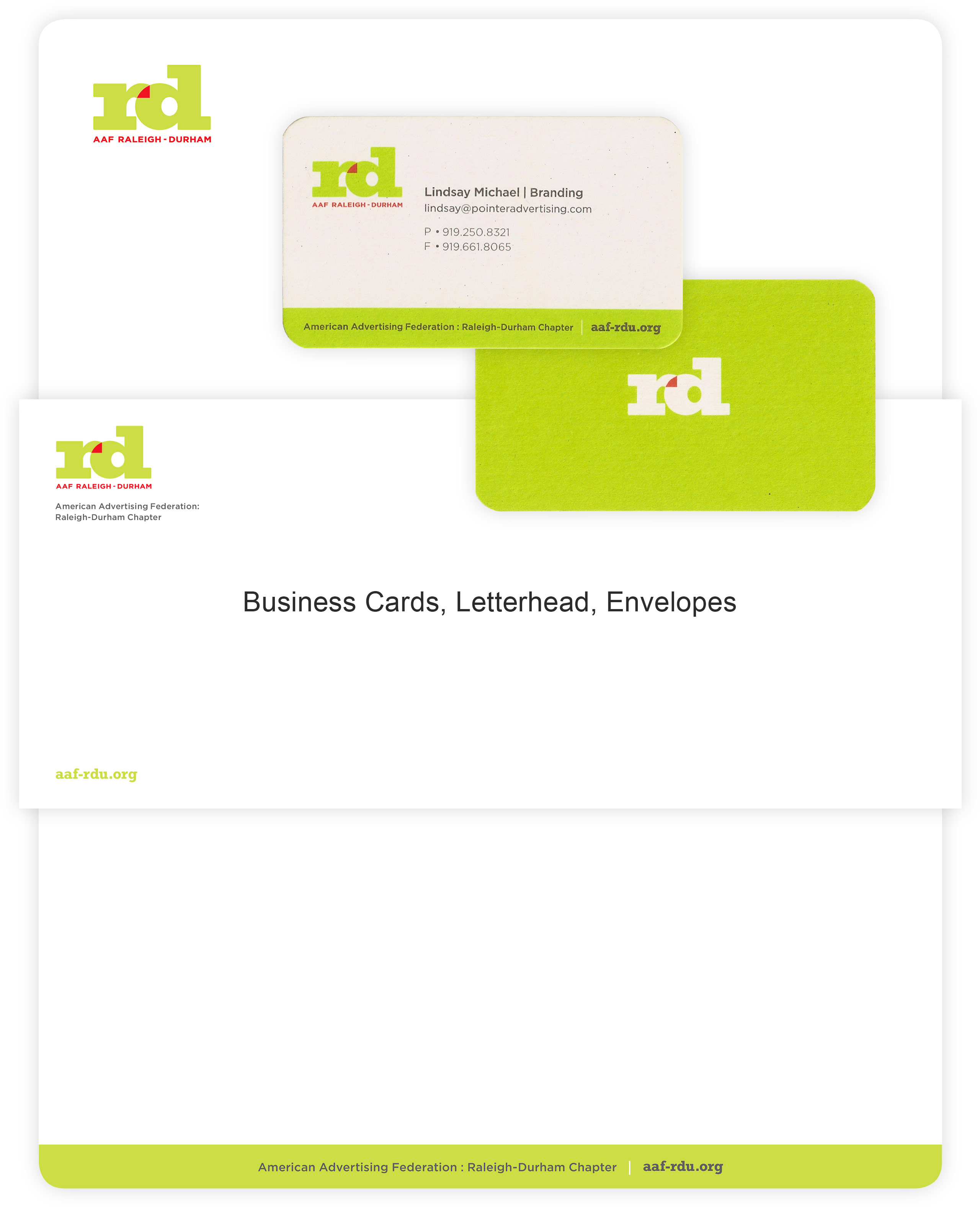 aaf raleigh durham stationery